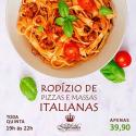 Rodízio de Pizzas e Massas Italianas do Solar do Imperador - Imagem2