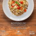 Rodízio de Pizzas e Massas Italianas do Solar do Imperador - Imagem1