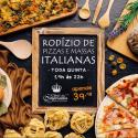 Rodízio de Pizzas e Massas Italianas do Solar do Imperador - Imagem4