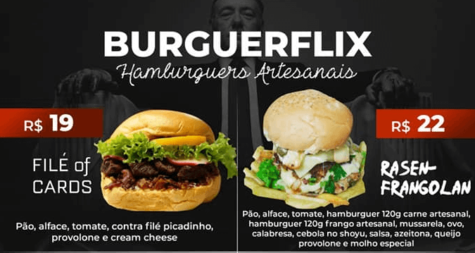 BURGUERFLIX DELIVERY EM PORTO SEGURO
