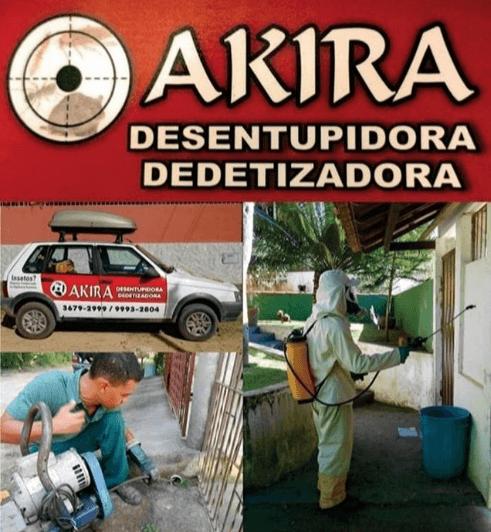 Akira Dedetizadora e Desentupidora em Porto Seguro