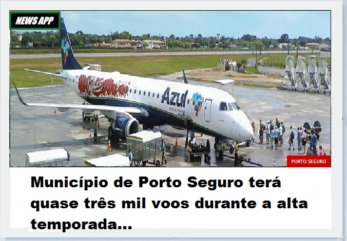 NOTÍCIAS DE PORTO SEGURO