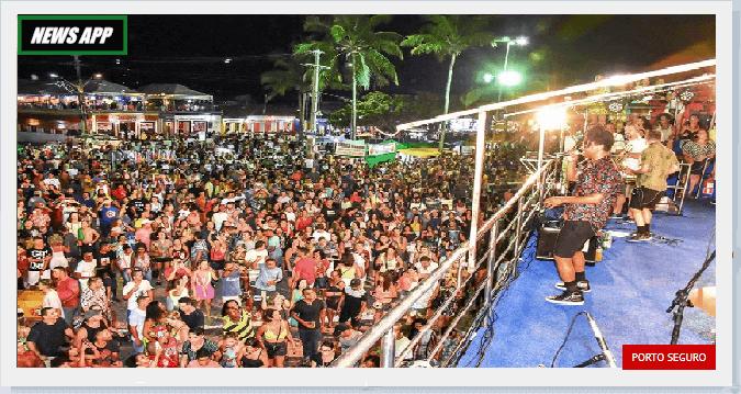 Vocalista Toni Garrido noite de festa na Passarela do Descobrimento Toni Garrido noticias de porto seguro