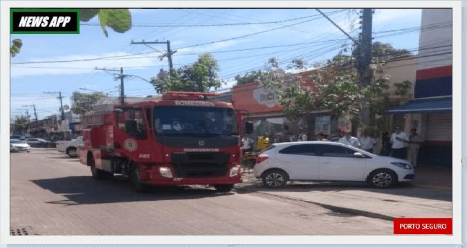 CASA BAHIA LOJA FOGO BOMBEIROS NOTICIAS DE PORTO SEGURO