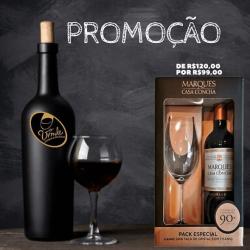 Promoção vinhos importados vinde vinhos porto seguro