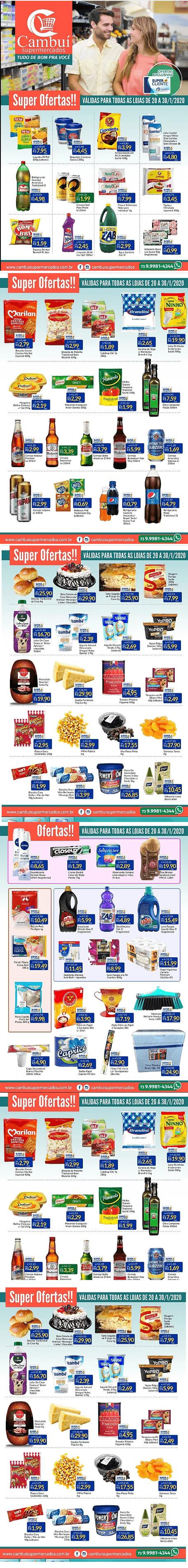 cambui supermercados catalogo de ofertas 20 A 30/ 1/2020