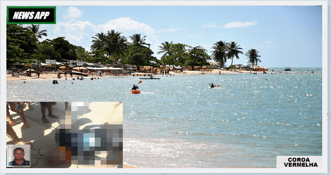praia coroa vermelha homem morto noticias de porto seguro